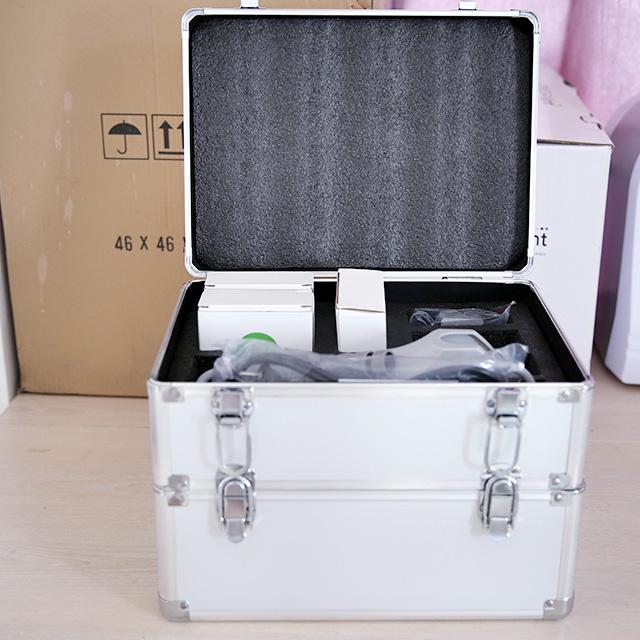 Mini Hifu Face Lifting Wrinkle Removal Machine for Home Use
